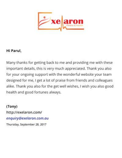 Exelaron-fitness