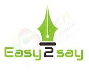 Green Web Media Logo Design Services Client - Easy2say