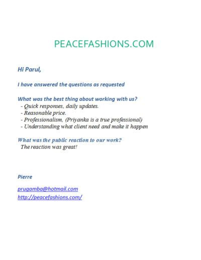 peacefashion