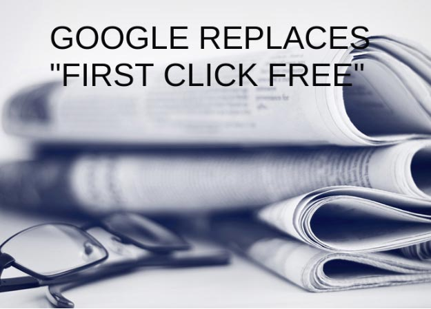 Google Replaces 'First Click Free' With 'Flexible Sampling'