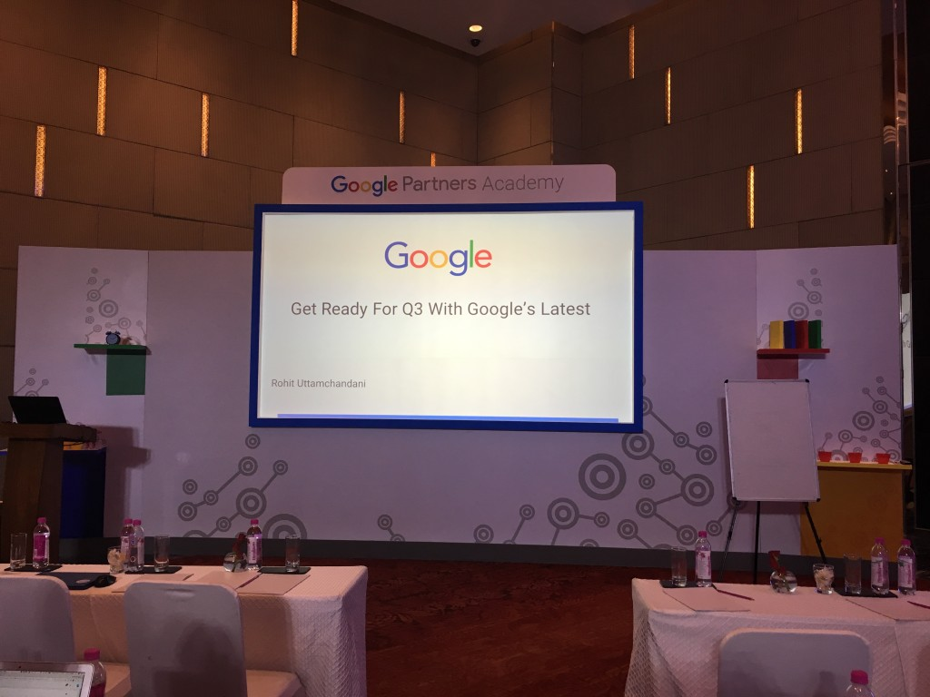 Google Seminar Attended By Green Web Media On Sales Master Class!!!
