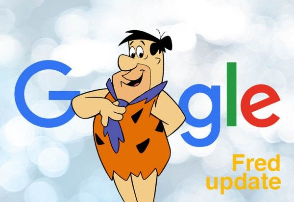 Google's Fred Update- Confirmed!