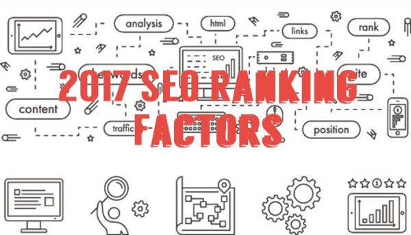 The top most search ranking factors of 2017!
