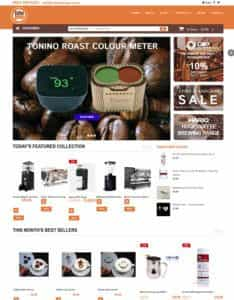 Green Web Media SEO Services Client - Coffee Omega