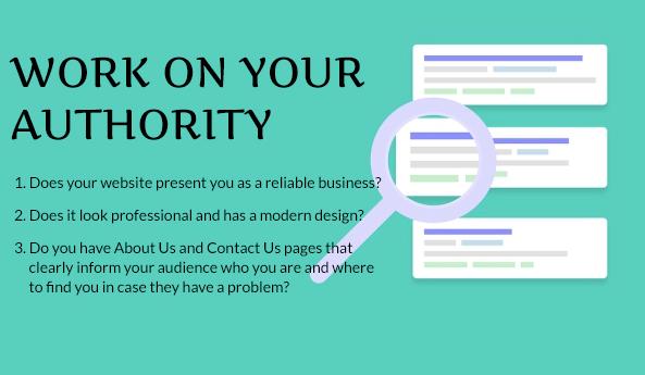 improve website authority