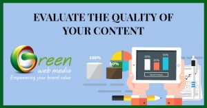 content quality evaluation