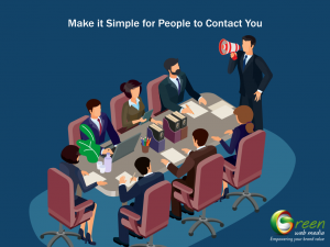 Make it Simple for People to Contact You