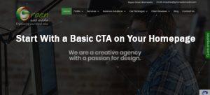 Basic CTA on Homepage