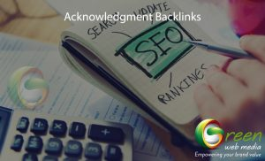 Acknowledgment-Backlinks