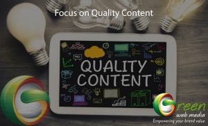 Focus-on-Quality-Content