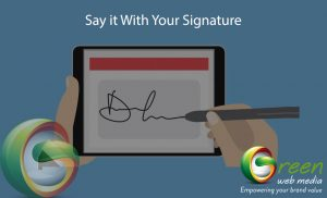 Say-it-With-Your-Signature