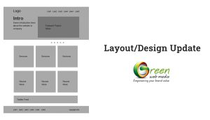Layout design update