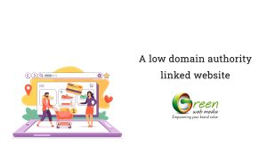 A-low-domain-authority-linked-website