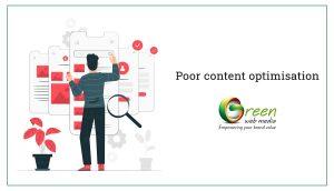 Poor-content-optimisation