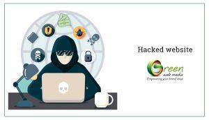 Hacked-website