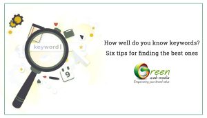 Six tips for finding the best keywords