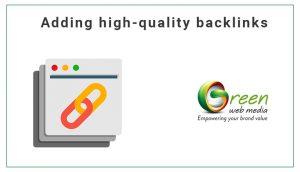 Adding-high-quality-backlinks