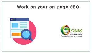 Work-on your-on-page-SEO