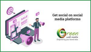 Get-social-on-social-media-platforms
