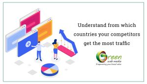 Understand from which countries your competitors get the most traffic