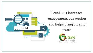 Local SEO increases engagement, conversion and helps bring organic traffic