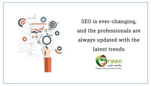 SEO is ever-changing, and the professionals are always updated with the latest trends